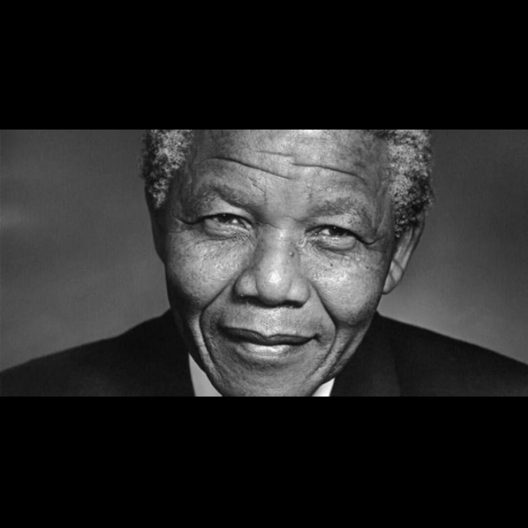 Rest in peace to the father of democracy Nelson Mandela A great great man!