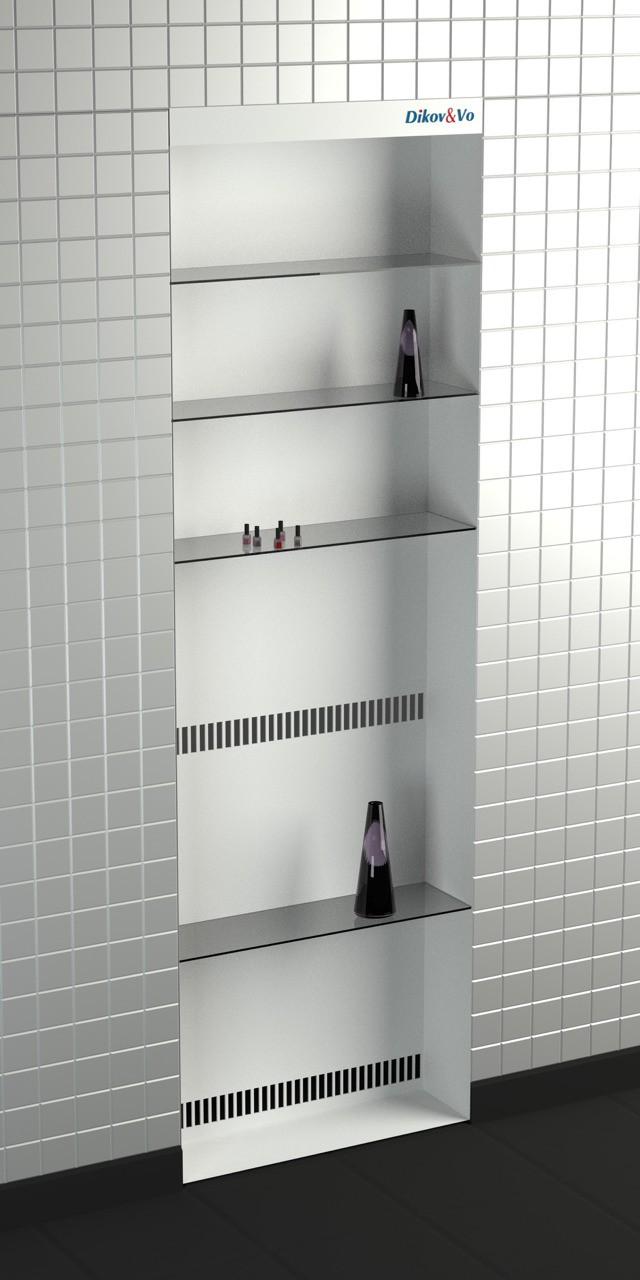 Radiador para los baños