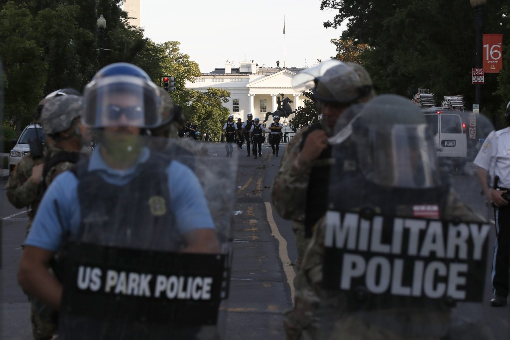 US Park Police investigate attack on Australian journalists