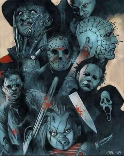 Jason Voorhees King Of Evil - Magazine cover
