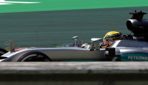 Hamilton supera Rosberg no treino livre em Interlagos; Massa é 4º