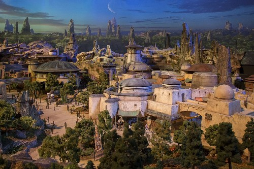Disney offers a first look at Star Wars land