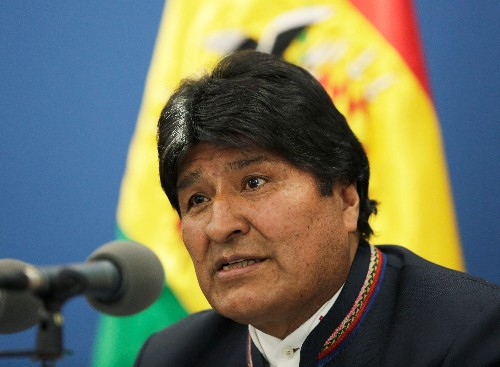 Bolivia president does about-face and will now accept aid to put out wildfires