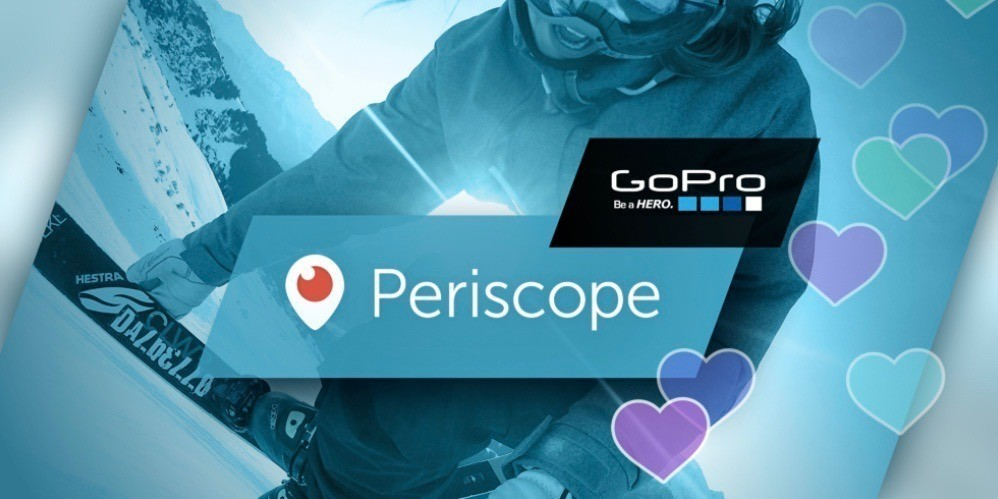 You can now live broadcast from your GoPro with latest Periscope iOS update