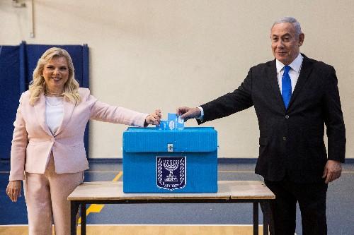 Warning of election 'disaster', Israel's Netanyahu battles for survival