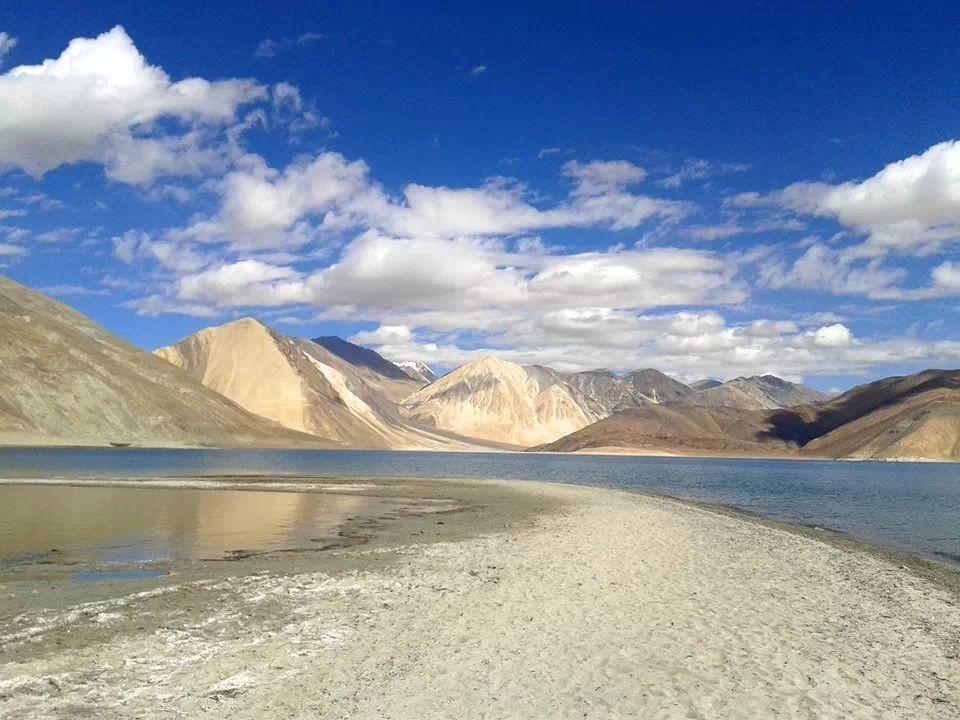 #Pangong Lake #Believe or #Not.. Picture Courtesy : Gaurav Jain