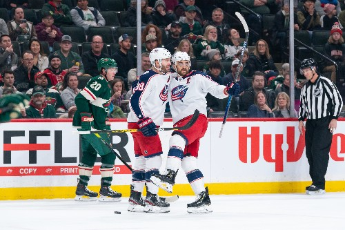 Koivu's two goals help Wild edge Blue Jackets