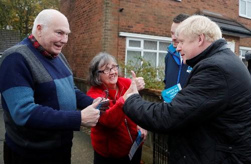 UK PM Johnson's Conservatives have highest support since 2017: polls
