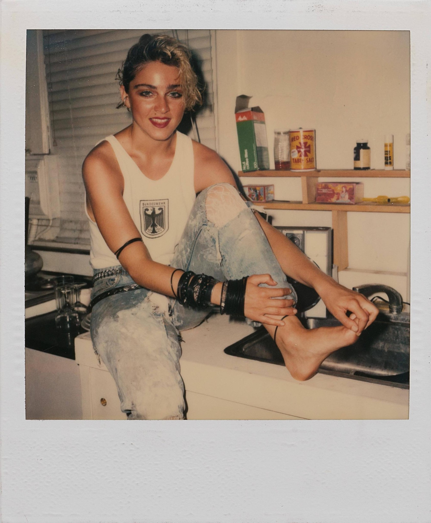 66 long-lost polaroids of madonna in '83 show a mega star on the verge - i-D