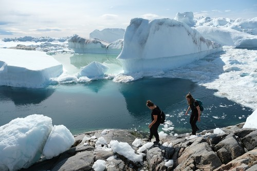 Heat Wave Reaches Greenland: Pictures