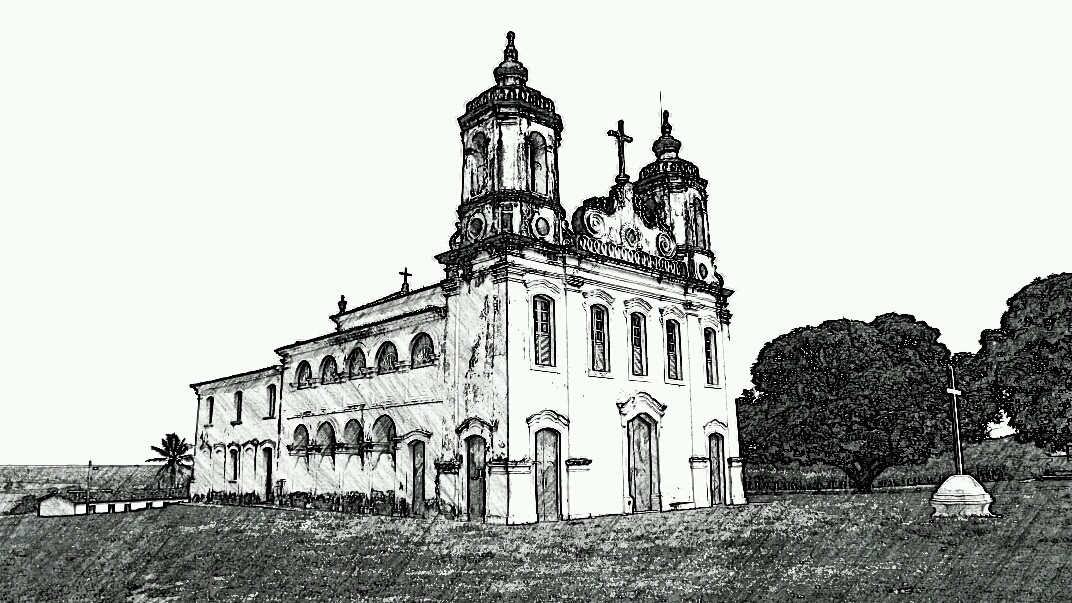 Capela do Engenho Colégio (século 17) -Povoado Nova Descoberta - Itaporanga / Sergipe