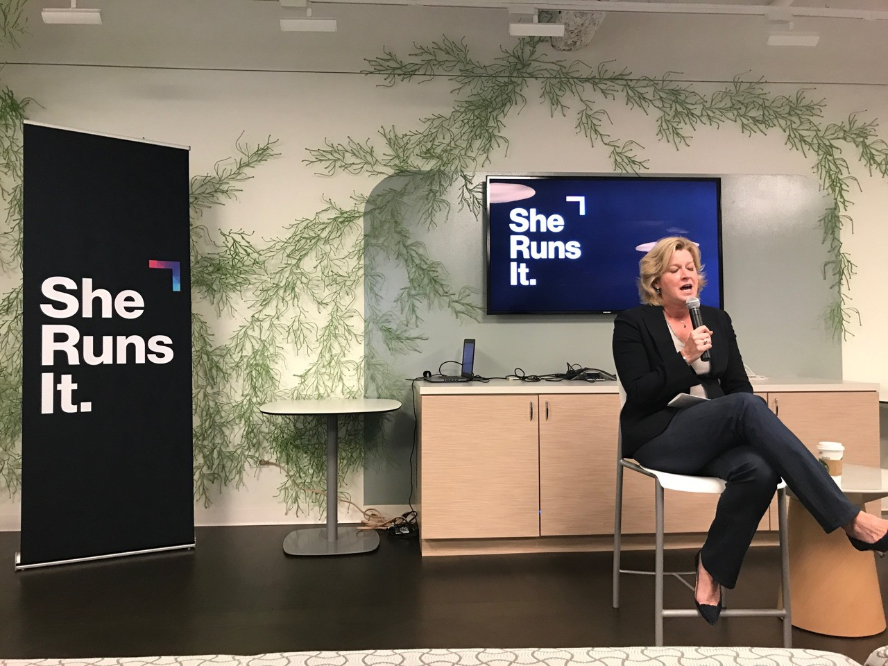 """Awesome breakfast with Lisa Donohue, Global Brand President of Starcom. """"Be agile, always be learning and be resilient."""""""