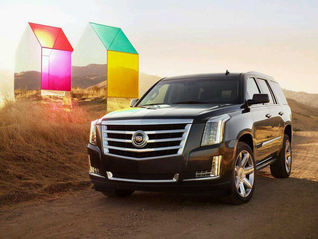 Cadillac scalade model 2014