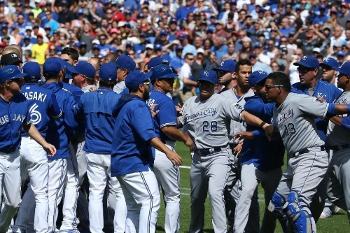 Volquez, Donaldson and More Royals, Blue Jays Comment After Benches Clear