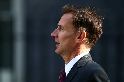 """Is Britain's Hunt going for PM May's job?: """"We have to see what happens"""""""
