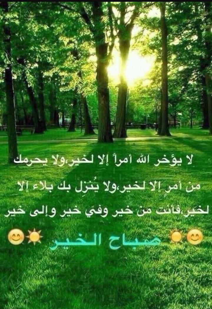 صباح الخير احبتي