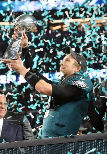 Eagles Shock the Patriots and Win First Super Bowl: Pictures
