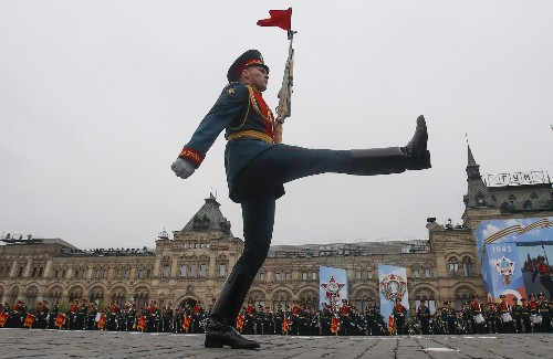 Victory Day in Russia: Pictures
