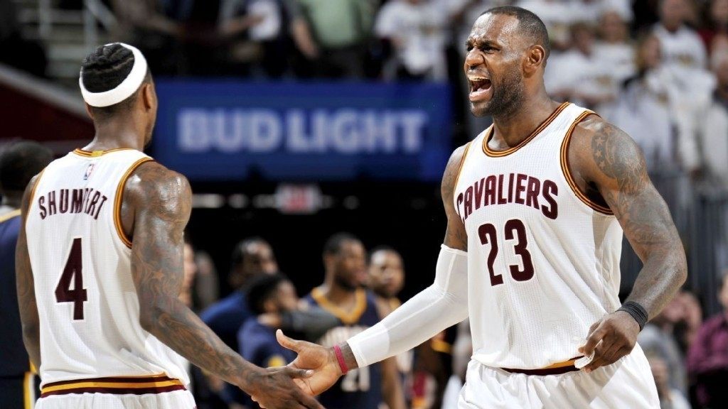 LeBron James says Cleveland Cavaliers nearly firing on all cylinders