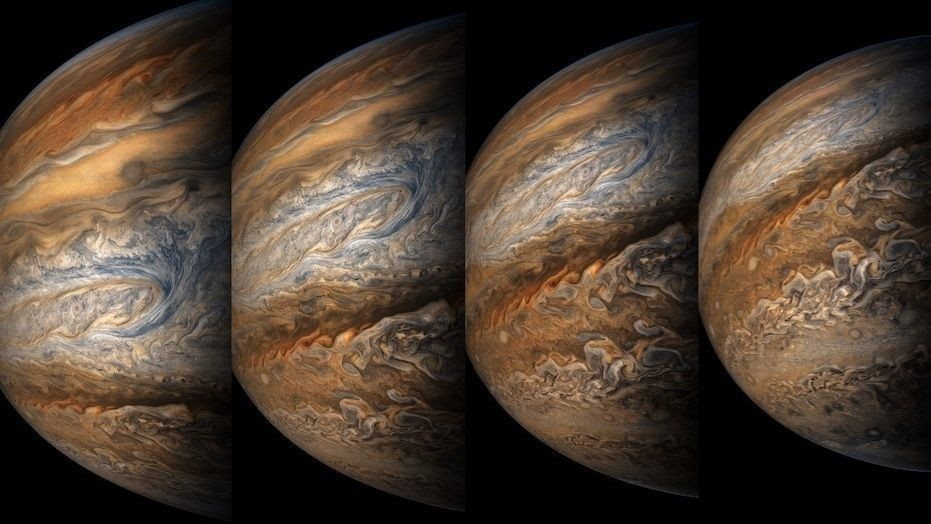 Jaw-dropping pictures of Jupiter from Juno space probe