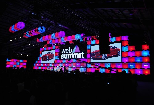 Web Summit 2015 in Dublin