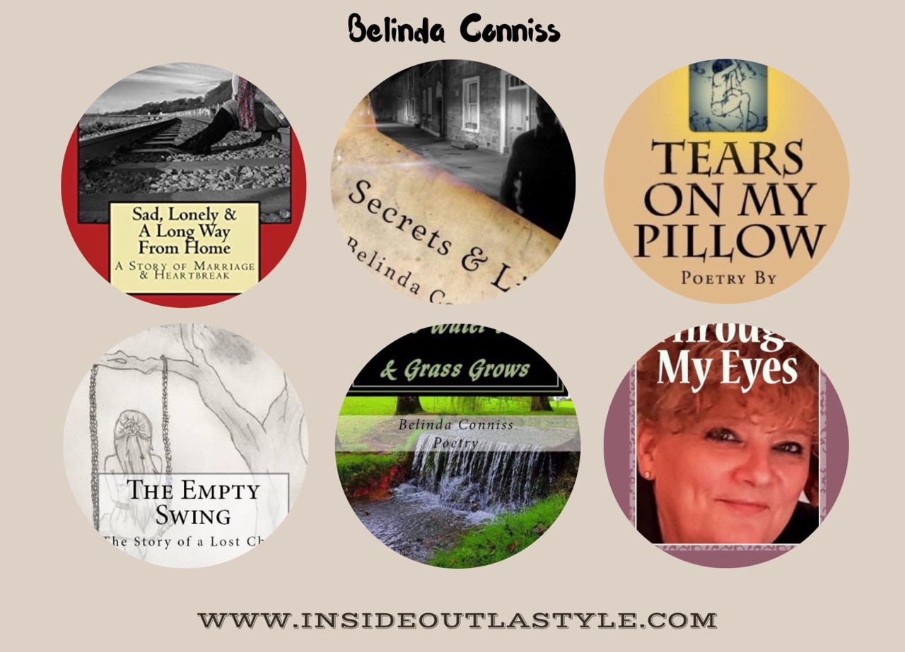 Available on #Amazon around the world #fiction #nonfiction #poetry More info www.insideoutlastyle.com including #Blogs #photography #BELINDATRAVELSTHEGLOBE