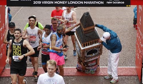 Big Ben runner has bad time at end of London Marathon