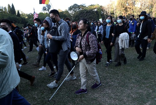'Why is the road broken?' Sightless Hong Kongers live city of protest by sound