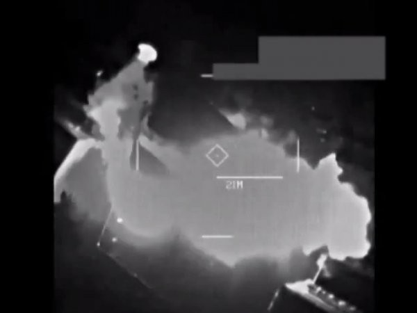 The US Military Just Released Videos Of Airstrikes Blowing Up ISIS Warehouses In Iraq