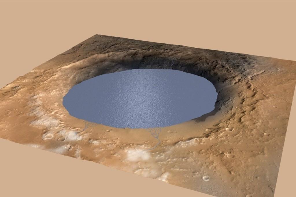 火星にはかつて巨大湖があった:NASAが発表