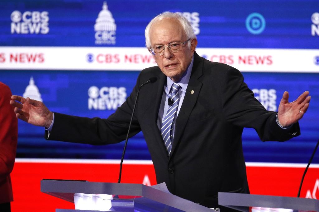 Israeli foreign minister slams Sanders 'horrifying comment'