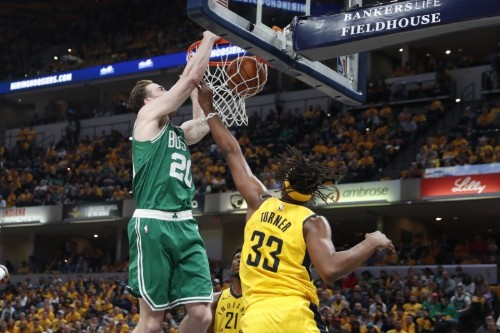 NBA roundup: Celtics move on after sweep of Pacers