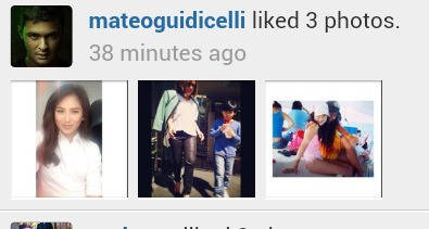 The man in love always likes the picture of the woman he loves! ♥♥♥ @mateoguidicelli @JustSarahG
