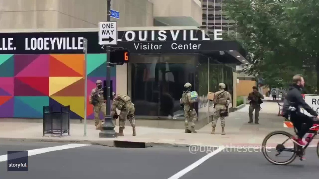 Kentucky Governor Authorizes National Guard Deployment in Louisville Amid Breonna Taylor Protests