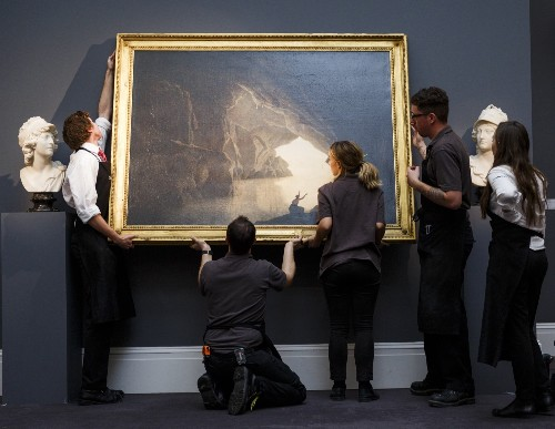 Preview of Sotheby's Old Masters Auction in London: Pictures