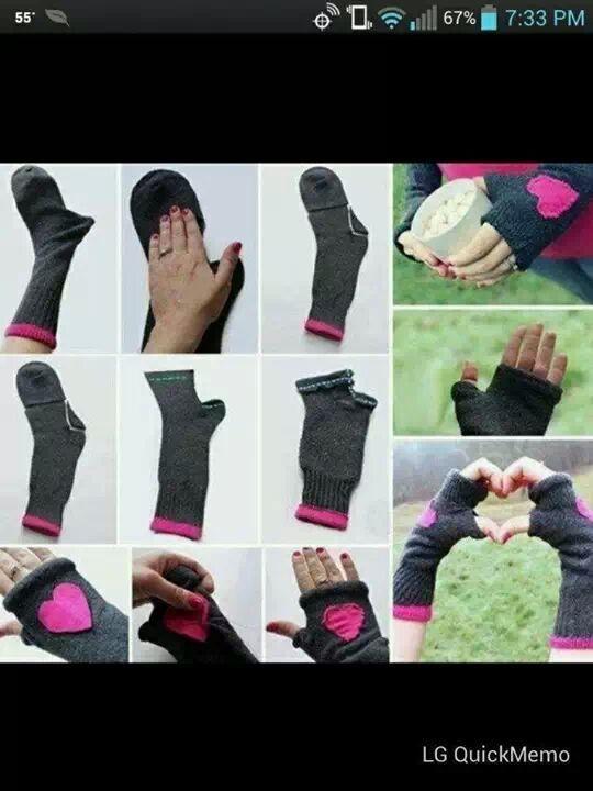 Socks for hands!