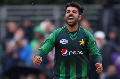 Cricket: Pakistan's Shadab declared fit for World Cup