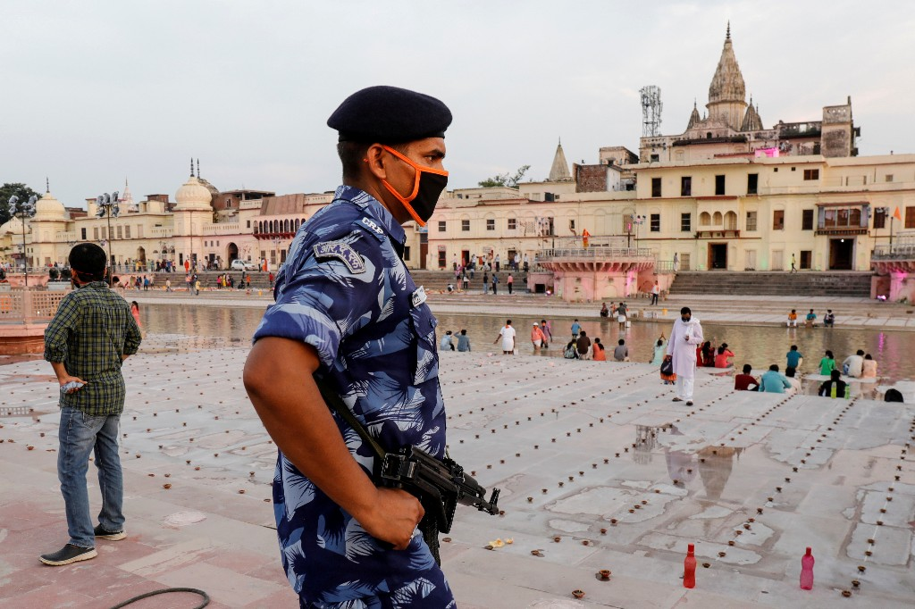 Wait of centuries is over, Modi says, as Ayodhya temple construction begins