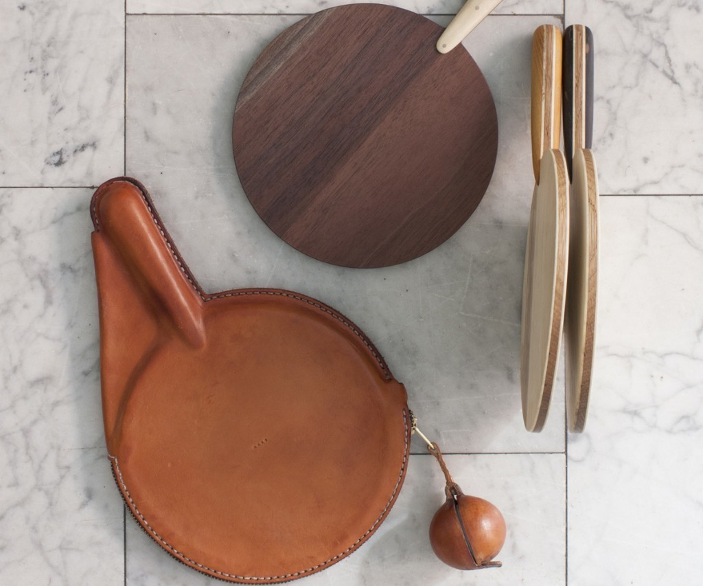 BDDW Ping Pong Table: Designer Tyler Hays expands his Oddities collection with high-end, hardwood fun