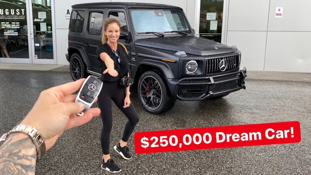 SURPRISING MY WIFE WITH HER DREAM CAR! 2020 G63 AMG