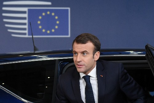 France's Macron: The Brexit accord is not renegotiable