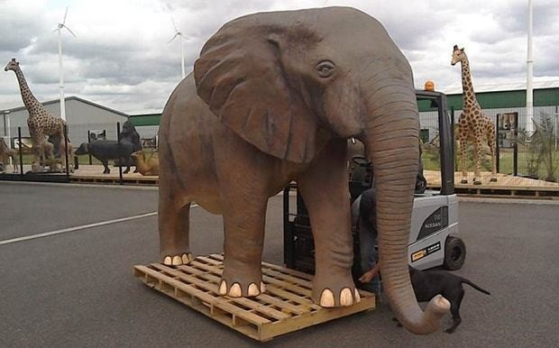 Top Gear: Jeremy Clarkson replaced by an elephant for tonight's final episode