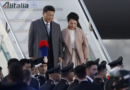 China's Xi visits Italy with Belt and Road deal as prize