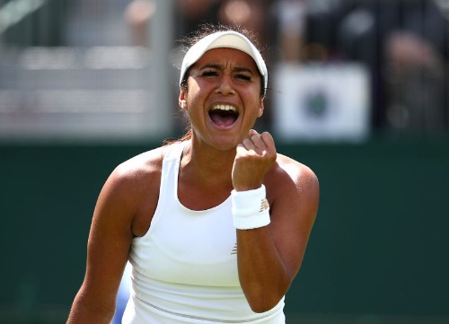 Britain's Watson powers into first WTA final since 2016