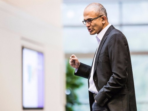 Microsoft is giving 'cash and technology' in its new philanthropic effort