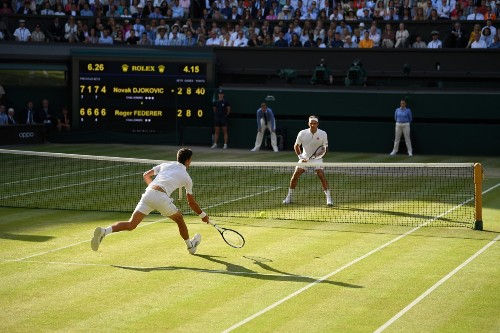 Djokovic Beats Federer in Wimbledon Thriller: Pictures