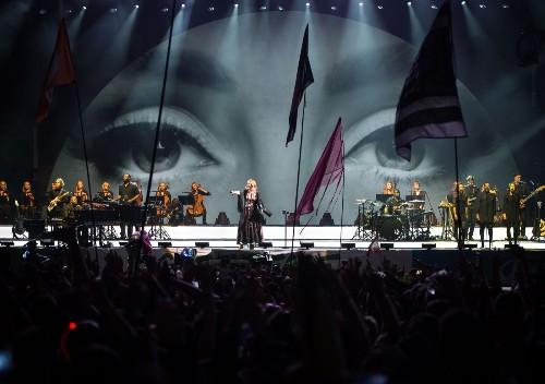 Adele Rocks Muddy Glastonbury: Pictures