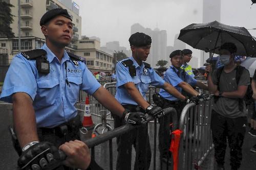 Protesters demand that embattled Hong Kong leader resign