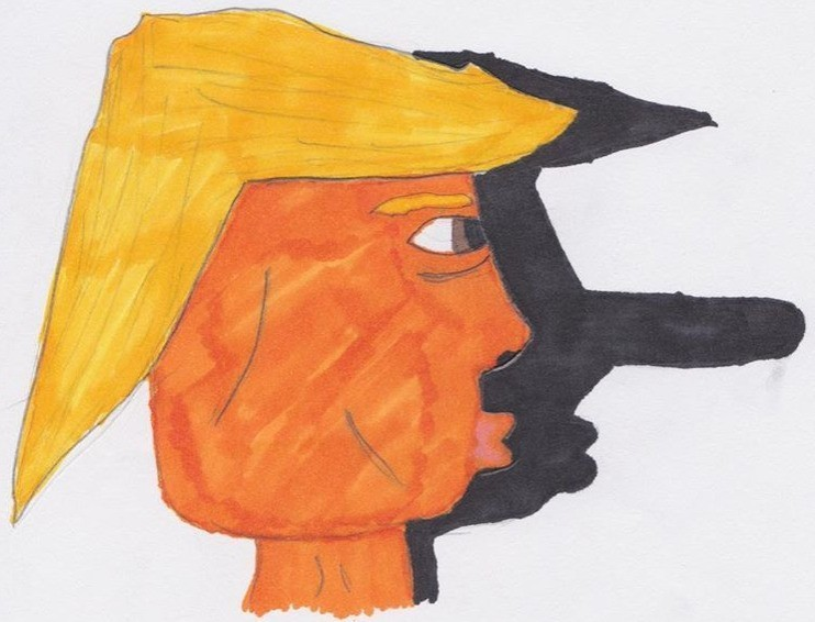 You're Going to Want to See This 11-Year-Old Boy Anti-Trump Cartoons