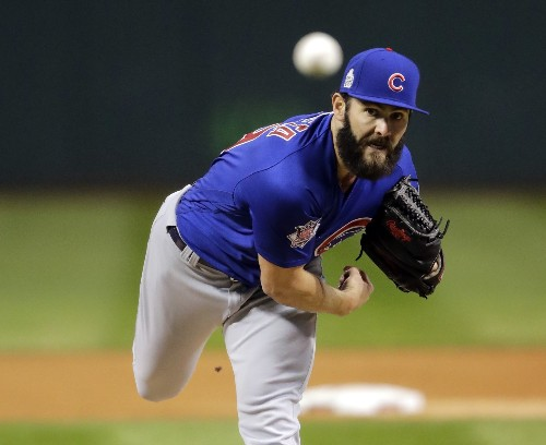 Cubs Storm Back to Win Game 2: Pictures